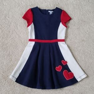 Hartstrings girl dress with hearts